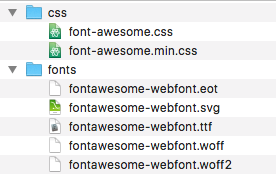fontawesome-folder
