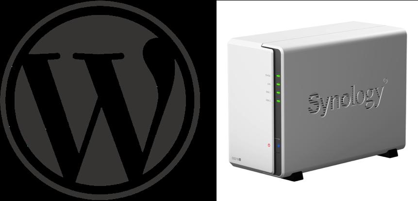 Synology DS216jで構築したWebサーバーにWordPressをインストール