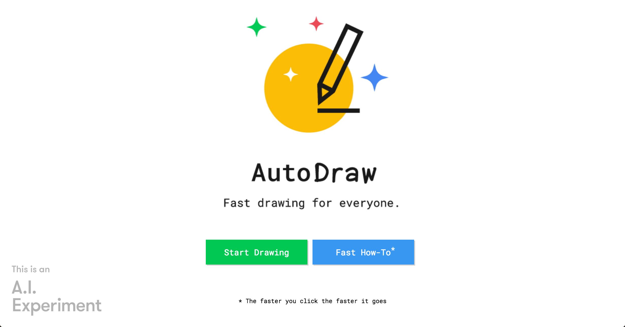 AIお絵かきツール「AutoDraw」が面白い!